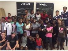 Veidekke och Football for Life visualiserar drömmar i Sydafrika