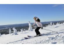 Alpint skiløb med fjeldudsigt - Johanna