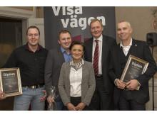 Vinnarna i Norrland av Visa vägen 2013