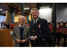 Jubilæumsmedalje til Københavns Brandvæsen