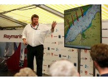 High res image - Raymarine - Simon Rowell Presenting 2017 RTIR Weather Briefing