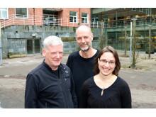 Donal Murtaugh, Patrick Eriksson och Kristell Pérot