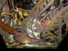Ulrica Hydman Vallien skapar glaskonst för gatumiljö.