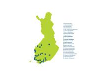 Den nya Sparbanksgruppen på kartan