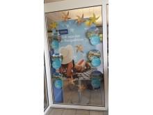 Iberostar Karibik-Schaufensterdeko