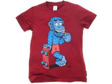 Polarn O. Pyret likes Finsta - t-shirt med tryck