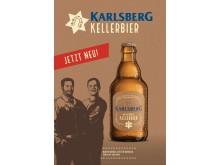 Plakat Karlsberg Kellerbier