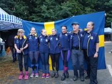 Svenska laget i distansritt Bryssel 2017