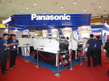 Panasonic booth features latest Panasonic's smart factory solutions