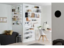 DK_Elfa Utility og Classic indretning til hjemmekontoret
