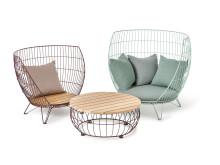 Basket furniture group, design Ola Gillgren