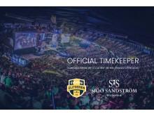 Official Timekeeper Sjöö Sandström