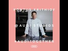 Pontus Frithiof bjuder på inpiration från Audi Studios