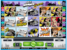 Jack Hammer slot at Vera&John Casino