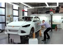 Ford visar koncept på ny global SUV på Detroit Motorshow 2011 - Ford Vertrek, bild 13