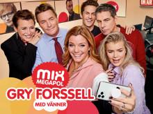 Gry Forssell med Vänner på Mix Megapol