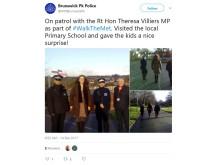 Theresa Villiers tweet