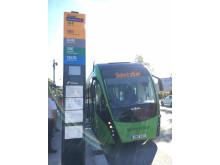Nobina kör BRT-buss till Köpenhamn
