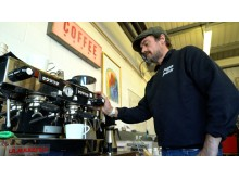 Gerald FitzGerald - Owner of Peaberry Coffee Roastery.