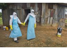 Norska lakare forbereder sig for kamp mot ebola