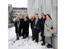 BSK Arkitekter och Arkitema/ELN vid invigningen av nya Södertälje sjukhus
