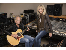 Lindsey Buckingham Christine McVie (c) John Russo