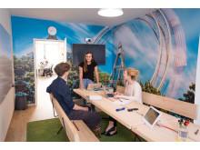 Individuelle Raumgestaltung lässt auch kleinere Räume zu Kommunikationszonen werden