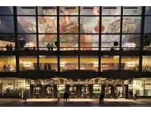 Das Deckengemälde von Sighard Gille im Gewandhaus zu Leipzig
