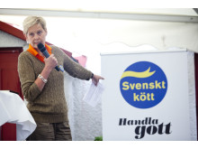 """Svenskt Kött i Almedalen 2013: """"Sveriges dyraste matkasse?"""""""