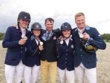 EM-silverlaget fälttävlan 2013