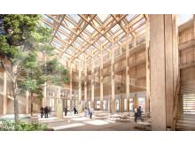 FOJAB Arkitekter och Wihlborgs vinner tävlingen om Science Village Scandinavia i Lund