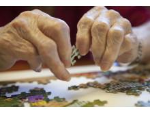 Medelåldern för de som insjuknar i reumatoid artrit är 55 år