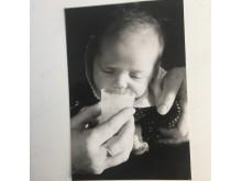 Malou von Sivers dotter Julia lapade mjölk som nyfödd