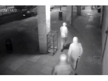 Suspects armed
