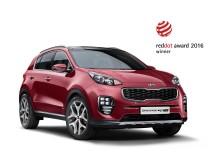 Red Dot designpris till nya Kia Sportage