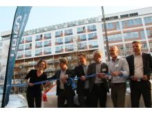 Invigning av UbiGo i Stockholm