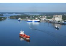 Suomen Ilmakuva_ Port of Naantali