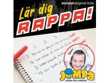 """Lär dig rappa med John """"Jompa"""" Landenfelt släpps på Storytel den 23 september."""