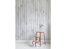 White Painted Wood - Photowall