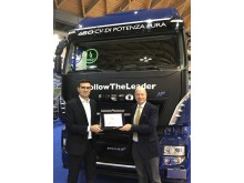 Stralis NP 460 hk kåret som SUstainable Truck of the Year 2019