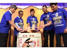13_2017_YAMAHA FACTORY RACING TEAM 鈴鹿8耐3連覇祝賀会