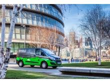 Ford Transit Plug-In Hybrid Testflotte