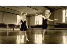 Bröderna Norberg som dansare