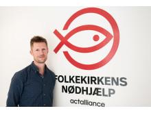 Thomas Mølgaard Andersen, ny chef for Folkekirkens Nødhjælps Genbrug & Wefood