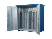 Ventilerad container för gasförvaring