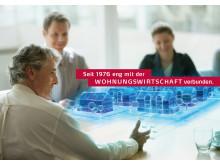 Seit 1976 eng mit der WOHNUNGSWIRTSCHAFT verbunden.
