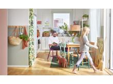 Interiör: köket i en ByggVesta-lägenhet