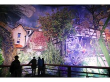Blick in die Ausstellung - Carolas Garten - Yadegar Asisi (6)