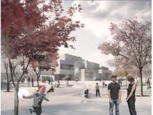 Nye pladser i Billund - Byens Plads
