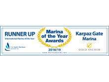 Logo - Karpaz Gate Marina - TYHA International Marina of the Year Runner-Up 2018/19